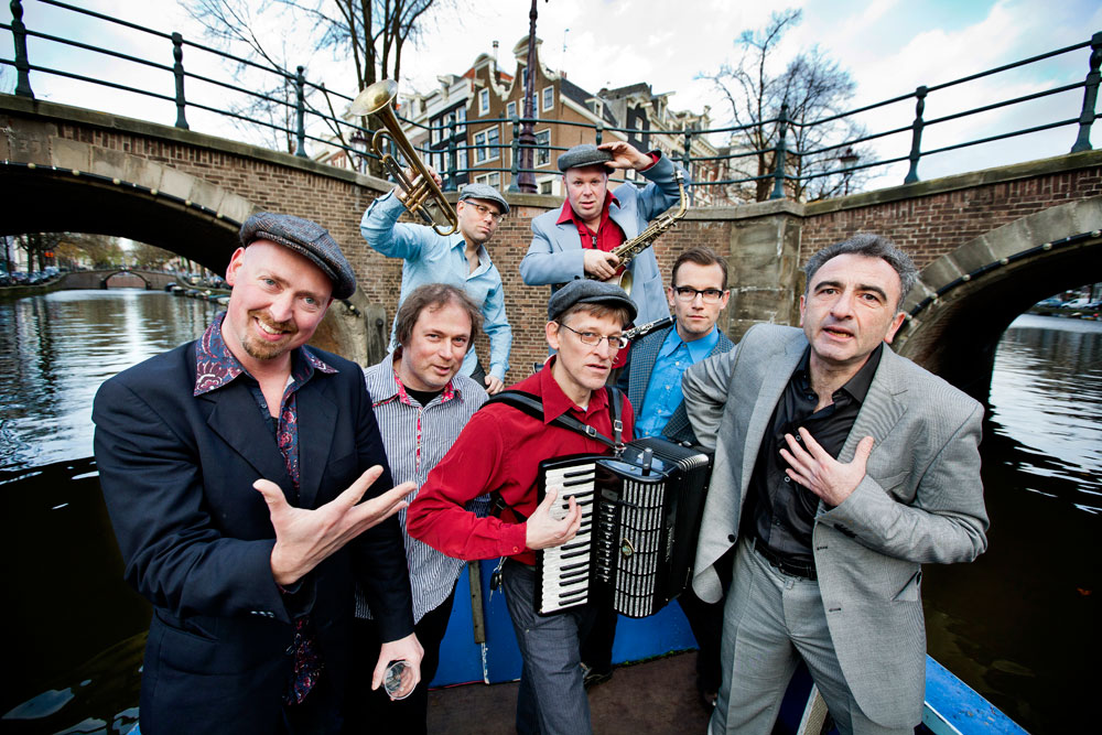 Amsterdam Klezmer Band by Fred van Diem